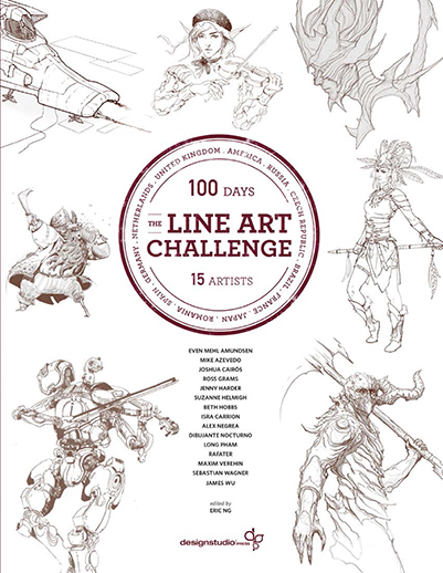 Line Art Resolution : The line art challenge design studio press